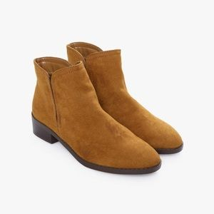 Forever 21 Fawn Booties